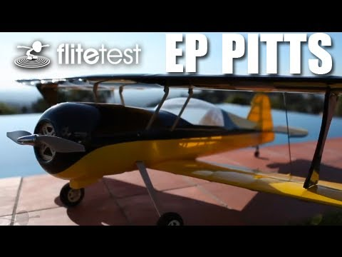 Flite Test - EP Pitts - REVIEW
