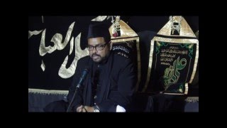 Khatibe Ahlaibait -Mau.Meesam Zaidi 2015-16 @Sayed Zulfikar Ali compound
