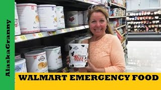 Walmart Emergency Long Term Freeze Dried Food- Long Term Food Storage Choices