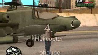 GTA:San Andreas Top 10 Cheats (PC)
