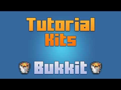 Minecraft - Plugin Kits [ Tutorial en Español ] Kits para servidores de Minecraft