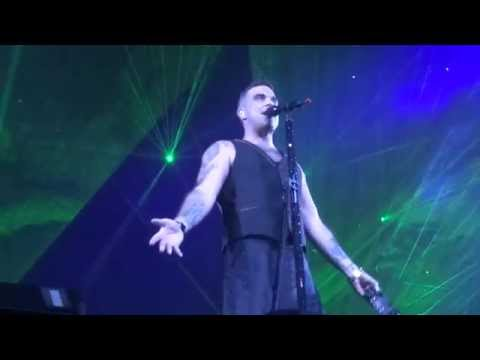 Robbie Williams - Feel - 24/10/15 Melbourne HD FRONT ROW