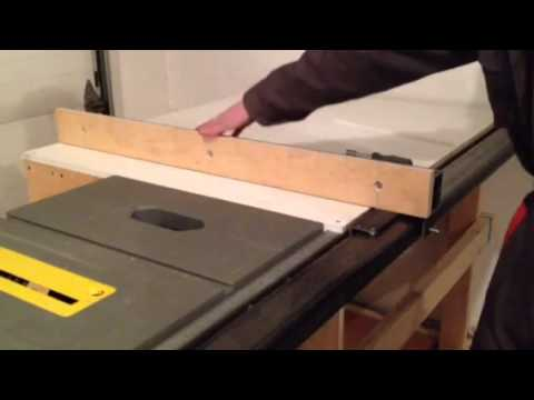 Table Saw Station - Part5