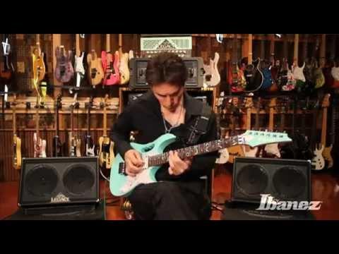 Ibanez Premium Steve Vai JEM70V Electric Guitar, SFG