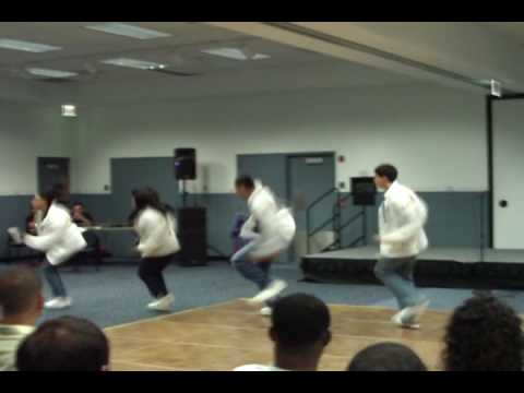 Alpha Psi Lambda Co-ed Latin Fraternity FAU Step & Stroll 9/08 Video