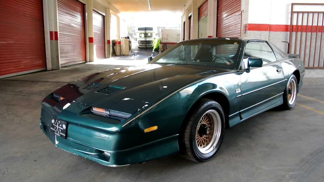 1987 pontiac trans am gta 5 speed manual v8 1 owner car. Black Bedroom Furniture Sets. Home Design Ideas