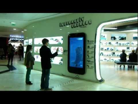 Démo de l'application Kinect développée par Gfi Informatique pour Scott Premium et Original