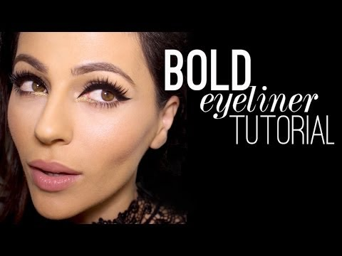 Bold Eyeliner Tutorial  |  12 Days of Christmas Giveaway!