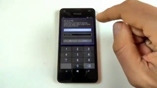 Microsoft Lumia 550 - How to add a security code