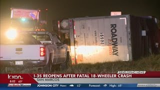 58-year-old driver died in the San Marcos crash