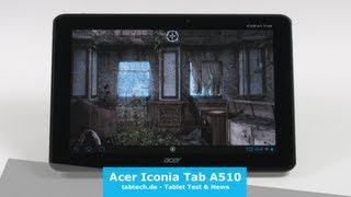 Acer Iconia Tab A510 Test - Deutsch