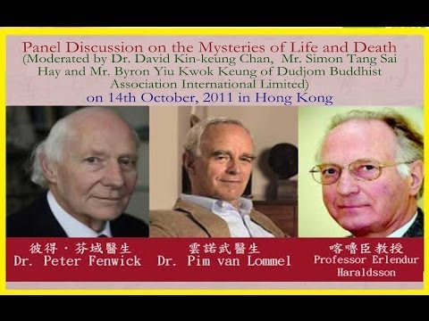 Panel Discussion on Near Death Experiences with 3 Keynote Speakers in Hong Kong Dated 2011 10 14