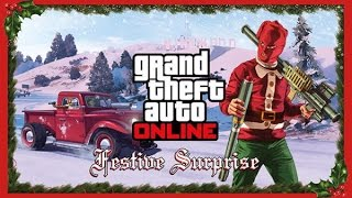 Grand Theft Auto 5 Online (GTA V Online) #3 - Зима в GTA / Игра в снежки