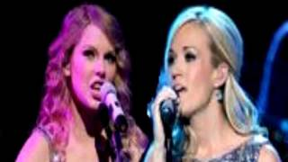 Carrie Underwood Good Girl Duet With Taylor Swift Safe And Sound VMA ACM Awards 2012 Lyrics HD