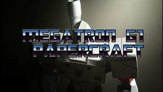 Papercraft Megatron G1 Transformers