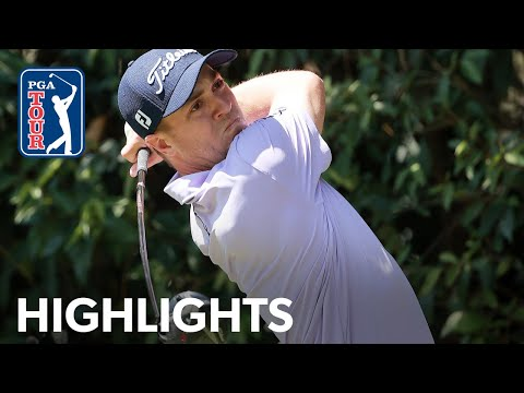 Justin Thomas shoots 4-under 67 | Round 1 | WGC-Mexico