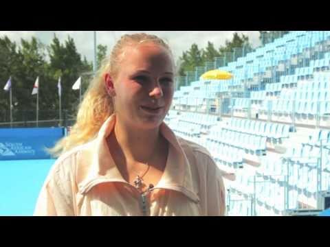 Caroline Wozniacki: Australian Open Interview