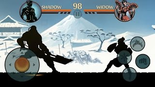 Shadow Fight 2 Titan vs Widow