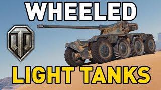 World of Tanks || WHEELED LIGHT TANKS!
