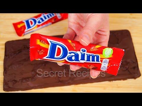 Гигантский Daim. Батончик Дайм - карамель в молочном шоколаде | Bar Daim