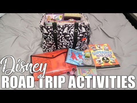 What to Pack for Disney | Road Trip Tips & Activities for Kids | July 2019