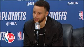 Steph Curry: Hopefully the train continues as we chase another championship | 2019 NBA Playoffs