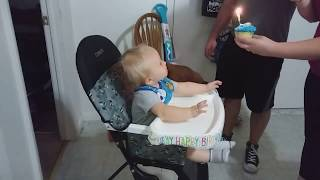 Birthday Boy Cried When His Candle Is Blown Out