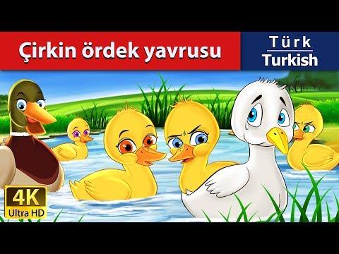 çirkin ördek yavrusu - Peri Masalları - Çocuklar İçin Uyku Masalları - 4K - Turkish Fairy Tales