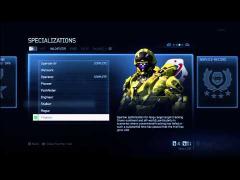 Halo 4 Tips & Tricks | Tracker Specialization Details | Unlock Armor & Requisition Tactical Package