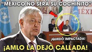 AMLO Deja Callada a Directora de la 0NU con este Discurso ¡Dijo toda la verdad!