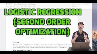 Logistic Regression - The Math of Intelligence (Week 2)