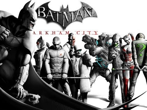 Batman Arkham City: Historia Geral do Jogo - GTX560 Ultra High