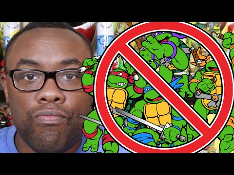 NO NINJA TURTLES! TMNT-Free Q&A : Black Nerd