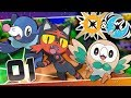 Pokémon Ultra Sun and Moon - Episode 1 | Deja Vu!