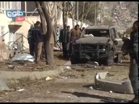 TOLOnews 16 November 2014 Suicide Attack in Darul Aman / حملۀ انتحاری در کابل