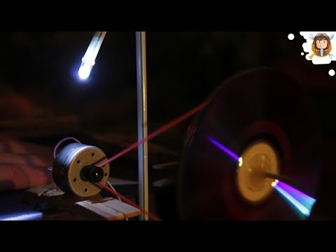 Electric Generator For Science Fair - (Free Energy)