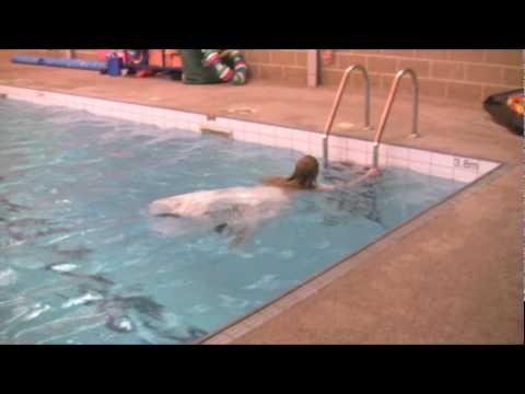 Bride in the pool wetlook fun part 02