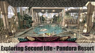 Exploring Second Life - Pandora Resort - #SecondLifeChallenge