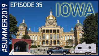 Iowa: The Bridges of Madison County and the State Capitol - #SUMMER2019 Episode 35