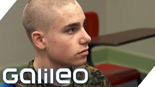 Schüleraustausch extrem: Basti in der Military Academy   Galileo   ProSieben