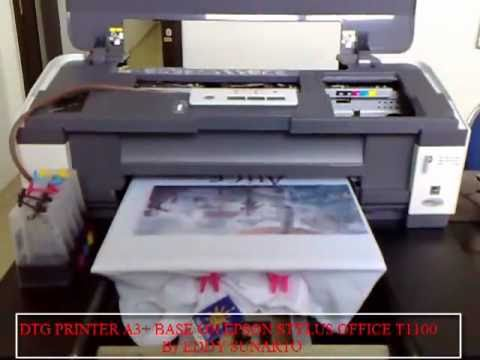 DTG PRINTER A3+ Base on Epson WorkForce 1100/Stylus Office 1100