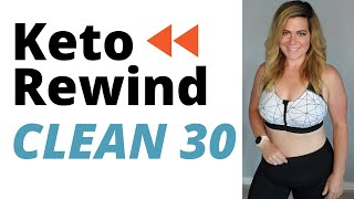 KETO REWIND CLEAN 30 CHALLENGE │30 Day Keto Meal Plan │Restart Keto And Lose The Quarantine Belly