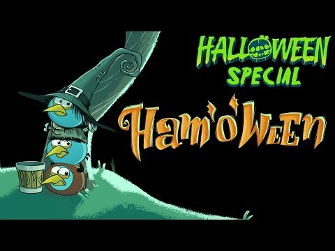 Angry Birds Seasons Ham'o'ween video