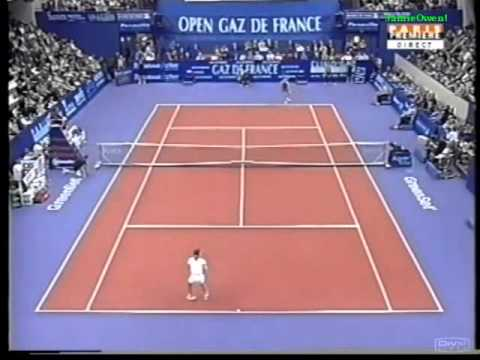 Monica Seles vs Justine Henin 2002 GDF Highlights