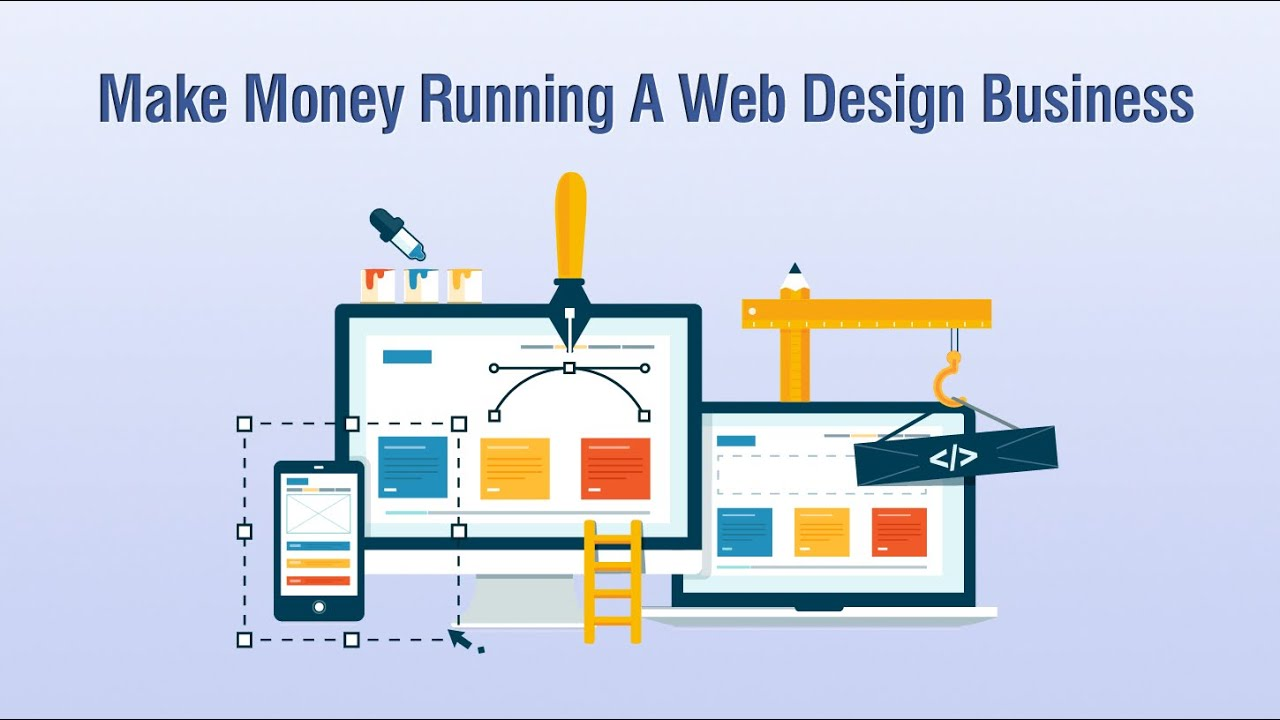 how to run a web design business from home youtube starting running and growing a web design business udemy