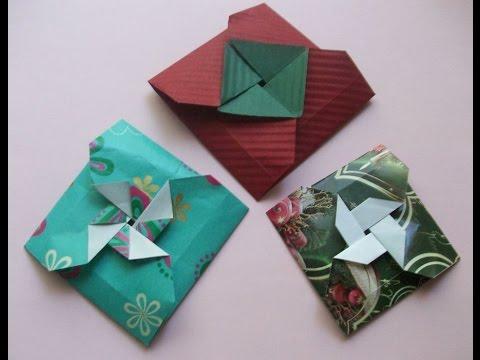 Как сделать открытки для денег