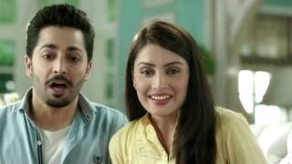 Ayeza Khan and Danish Taimoor together in Rose Petal Commercial
