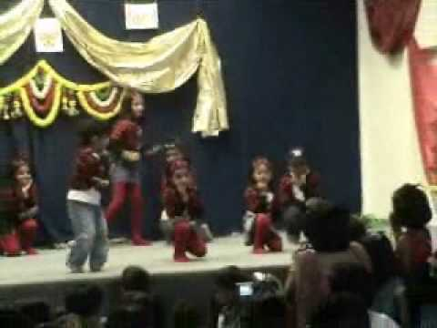 Anusha's Dance At Diwali Mela- Mandir video