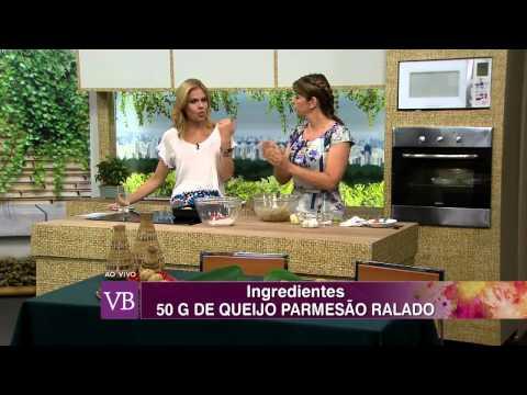 Você Bonita - Bolinho Integral de Arroz com Legumes (19/11/14)