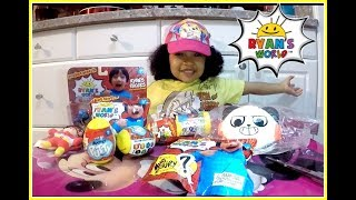 MAYA'S FIRST TOY REVIEW!/ RYAN'S WORLD TOYS